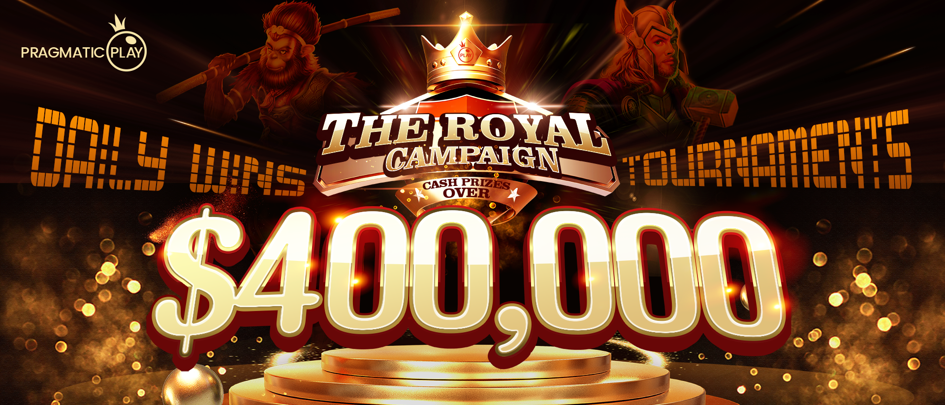 BBIN The Royal Campaign Winner List Thumbnail